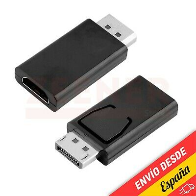Adaptador DisplayPort macho a HDMI hembra [ DP - Display Port - monitor ]