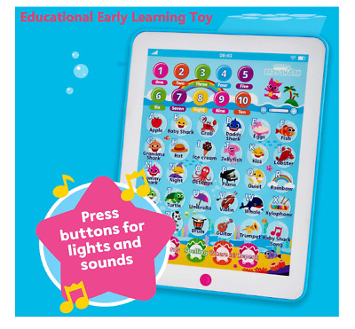 WowWee Pinkfong Baby Shark Kids Ipad Song Tablet Toddler Educational Child Toy