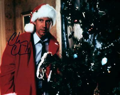 Chevy Chase Lampoon's Christmas Vacation Autographed 8x10 Photo signed Pic + COA