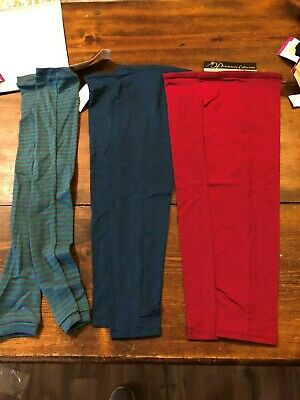 Body Wrappers Thigh warmers lot of 3 kids size large