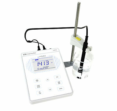 Apera EC700 Benchtop Conductivity Meter Kit with 2301T-F Conductivity Electrode