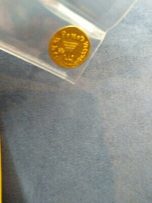 AUTHENTIC -641 AD Ancient Rome Byzanthe  Gold Solidos Coin of Emperor Constans