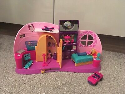 Mattel Polly Pocket FRY98 Go Tiny! Room Playset