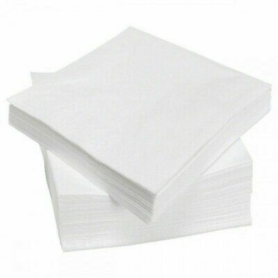 Essentials 1 Ply Luncheon 1000 Paper Soft Napkins For Catering Tableware Party