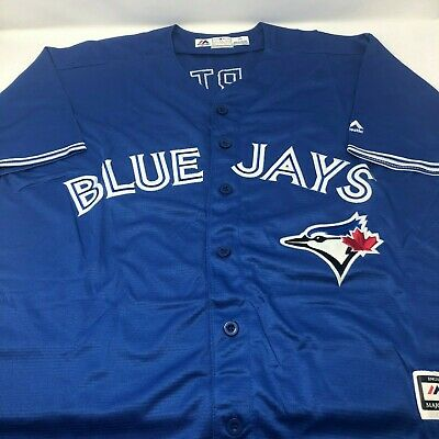 Joe Carter Toronto Blue Jays Replica Throwback Stitched Jersey Mens Size Medium