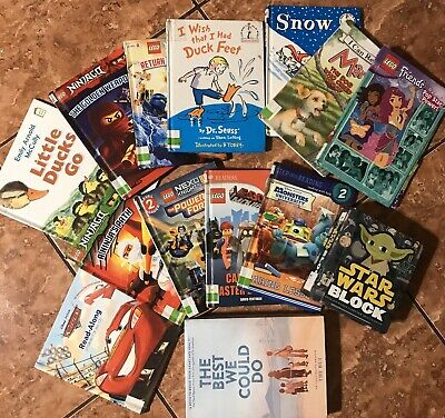 Lot of 5 Childrens Reading Bedtime-Story Time Kids BOOKS RANDOM MIX UNSORTED