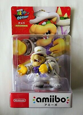 Us 1st Print Super Mario Bowser Amiibo Brand New Sealed