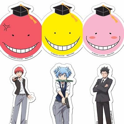 ASSASSINATION CLASSROOM KORO SENSEI/'S FACES POSTER 24x36 ANIME MANGA 67044