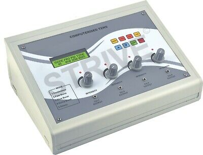 Professional TENS 4channel Electrotherapy Machine Therapy Muscle Stimulator Unit