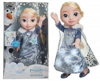 Disney Frozen Singing Traditions Elsa Doll Ages 3+ Play Gift Set Olaf Anna Magic
