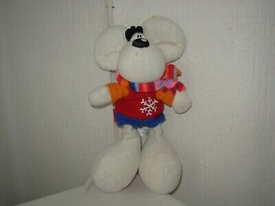 "Peluche Diddl ""hiver"" 26cm"