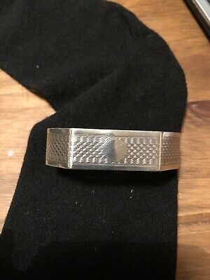 Vintage Solid Sterling Silver NAPKIN RING Unusual 1932 WWL 15.9gms