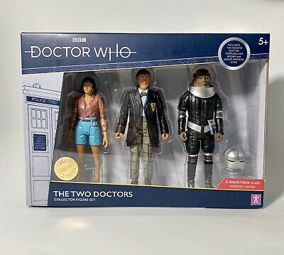 Doctor Who The Two Doctors Set Limited Edition Collectable