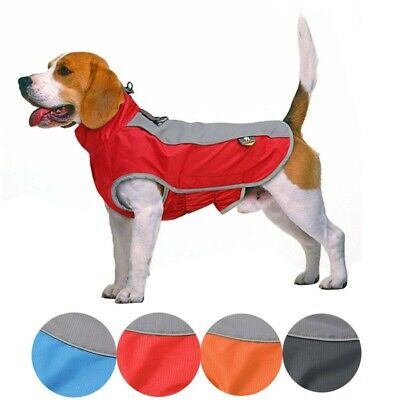 Waterproof Winter Warm Padded Pet Dog Clothes Fleece Coat Vest Jacket for Dogs #