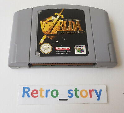 Nintendo 64 N64 - The Legend Of Zelda Ocarina Of Time - PAL