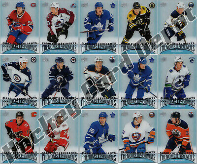 2018-19 UD TIM HORTONS CLEAR CUT PHENOMS COMPLETE 15 CARD INSERT SET LOT New!!!