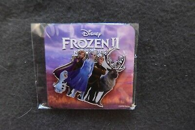 Disney Frozen 2 Pin Movie Fan Event  Anna, Elsa, Kristoff, Olaf & Sven