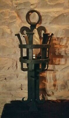 Gothic / Medieval Style Wall Light (Torch)