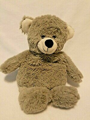 Cozy Hugs Grey Bear Plush Stuffed Animal Aromatherapy Heating Pad