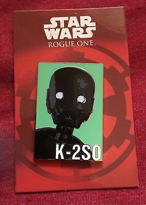 Disney Star Wars Rogue One Reveal Conceal K-2S0 Pin