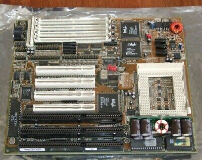 Socket 8 Pentium Pro motherboard NOS AT form factor for vintage computer