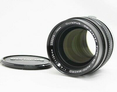 [Mint] Olympus OM-System Zuiko MC Auto-Macro 135mm F/4.5 Lens from Japan
