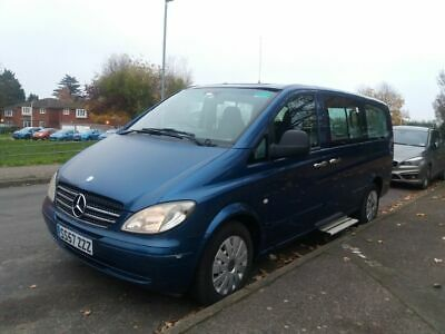 2007 Mercedes vito 111 traveliner 9 seater Taxi wheelchair acsessable