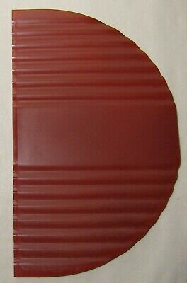 Bakelite Plastic Half Moon Door Panel from 1939 Mills Zephyr Jukebox #2