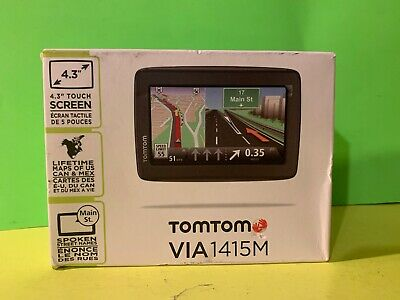 """TomTom Start 55T Portable 5/"""" GPS Set US//CAN//MEX//EUROPE WEST Maps Traffic 55"""