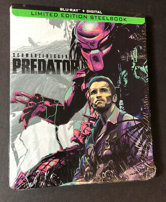 Predator [ Limited STEELBOOK Edition ] (Blu-ray Disc) NEW