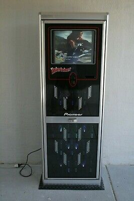 """Video Juke Box. Pioneer """"entertainer"""". Touch screen, Upright. 7500 tracks."""