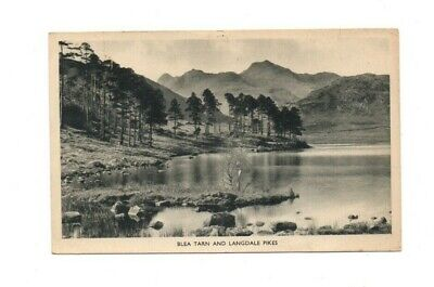 Cumbria / The Lake District - Blea Tarn & Langdale Pikes - Postcard Franked 1949