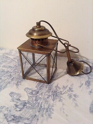 Vintage French Nautical Style Lantern Ceiling Light