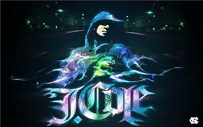 """J Cole USA Rapper Songwriter Producer Music Rap Star 20/""""x13/"""" Poster 025"""