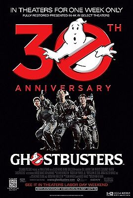 "NEW Ghostbusters Movie Art Silk Poster 30th Anniversary 24X36"" 001"