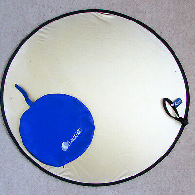 "Lastolite Large 95cm 38"" Gold White Light Reflector Collapsable"