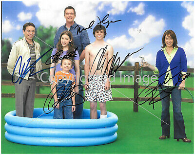 The Middle Tv Cast: 8.5x11 Signed Autographed Reprint RP Photo Picture