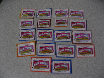 18 Box Tops For Education ~ BTFE ~ None Expired