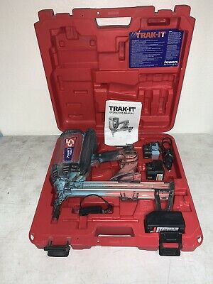 Powers Fasteners Trak-It C5 Gas Fastening System With Long Track