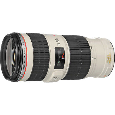 Canon EF 70-200mm f/4L IS USM Lens Mint condition Cash upon Collection L@@K WOW!