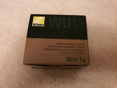 Nikon WU-1a (VWA102AU) Wireless Connectivity