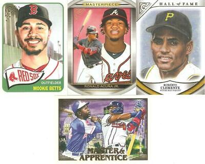 2019 Topps Gallery Retail Inserts ***You Pick***