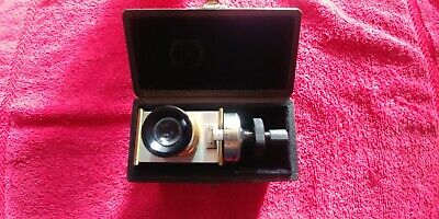 ANTIQUE !Bausch & Lomb 10 Division Micrometer For Measuring Microscope WONDERFUL