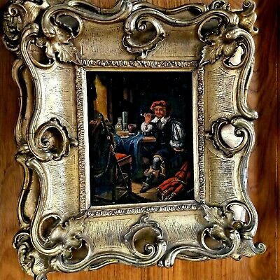 Old Masters Oil Painting-Portrait-17th/18th Century