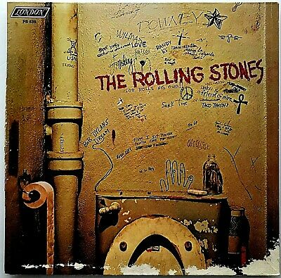 "THE ROLLING STONES ""Beggars Banquet"" RE RM Vinyl LP - 1986 ABKCO London PS-539"