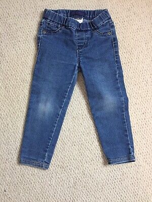 Girls Levi's Levi Strauss Pull On Jeans age 3T Straight Leg Elasticated Waist