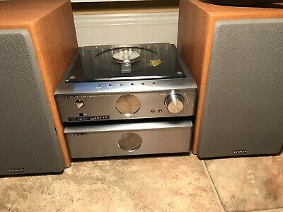 Hitachi AX-M71 COMPONENT STEREO SYSTEM WITH REMOTE-Superb Sound-HiFi