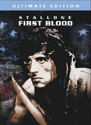 FIRST BLOOD DVD Ultimate Edition Rambo Movie-Sylvester Stallone NEW-SEALED