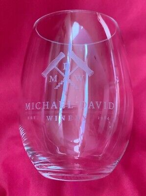 Michael David Winery Stemless Wine Glass