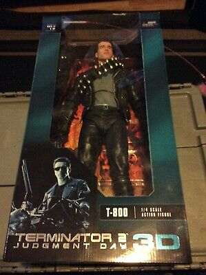 Judgment Day T-800 Arnold 18IN 1//4 Scale PVC Action Figure No Box Terminator 2